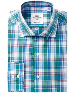 Royal Plaid Slim Fit Dress Shirt