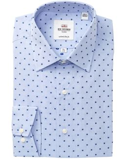 Clip Spot Florentine Tailored Slim Fit Dress Shirt