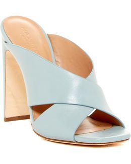 Crystal High Heel Mule