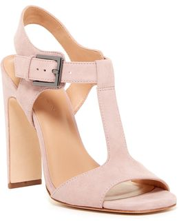 Vera T-strap Heel Sandal
