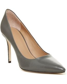 Courtney Leather Pump