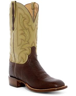 Genuine Leather Cowboy Boot