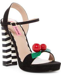 Izzie Ankle Strap Platform Sandal