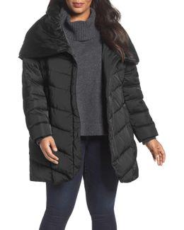 Matilda Shawl Collar Quilted Coat