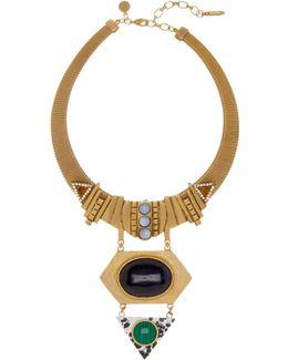 Jack Geometric Pendant Necklace