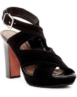 Jaxon Crisscross Platform Sandal
