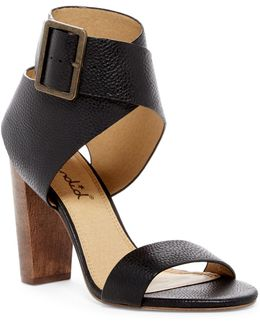 Jayla Open Toe Pump