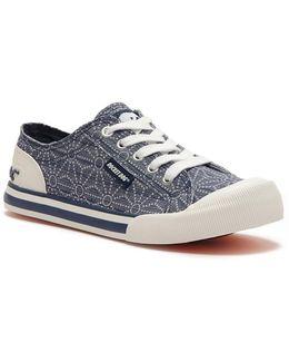 Jazzin Indigo Tizer Canvas Sneaker