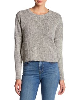 Vignes Ribbed Cropped Sweater