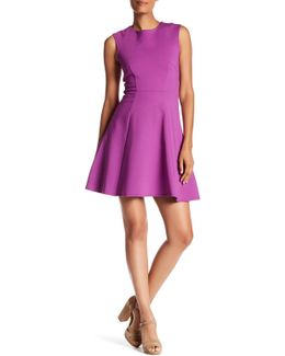 Sleeveless Ponte Dress