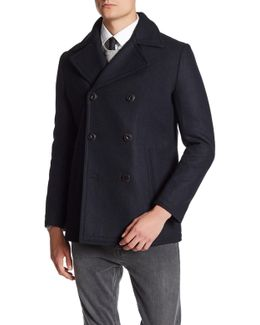 Seville Double Breasted Peacoat