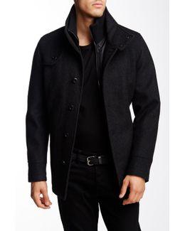 Palma Button Front Coat