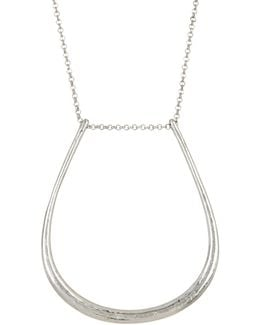 U-shaped Pendant Necklace
