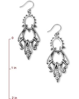 Silver Swing Earrings