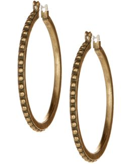 Dot Hoop Earrings