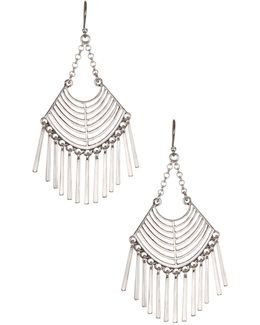 Open Work Chandelier Earrings
