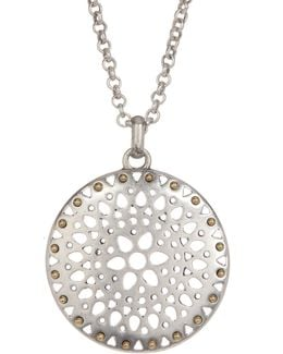 Openwork Pendant Necklace