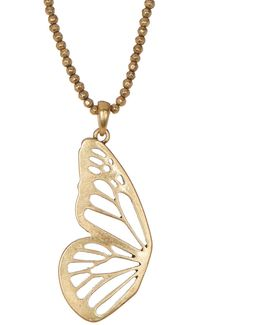 Butterfly Wing Pendant Necklace