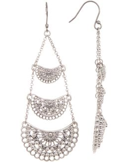 Open Chandelier Earrings