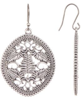 Open Drop Earrings