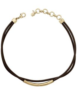 Curved Bar Double Layer Choker