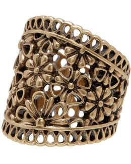 Lace Openwork Ring - Size 7