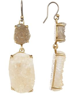 Druzy Statement Earrings