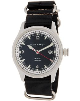 Men's Nautical Nato Nylon Strap Watch
