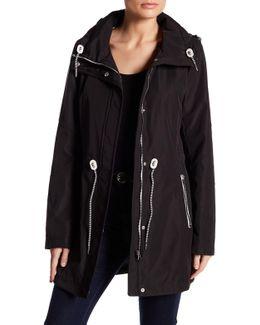 Polybonded Jacket With Hidden Hood