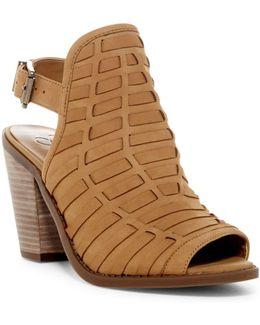 Celinna Peep Toe Slingback Sandal