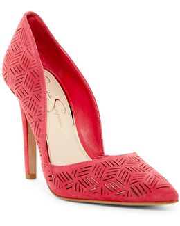 Charie Pointy Toe D'orsay Pump