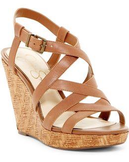 Jazlin Wedge Sandal