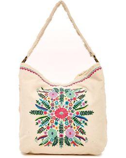 Azalea Embroidered Hobo