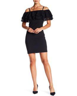 Lace Popover Shift Dress