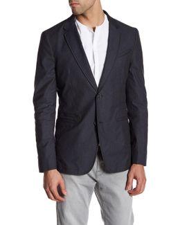Notch Lapel Two Button Jacket