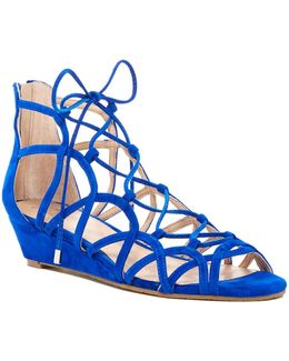 Hartley Gladiator Wedge Sandal