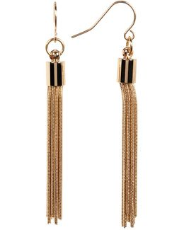 Tassel Detail Drop Earrings