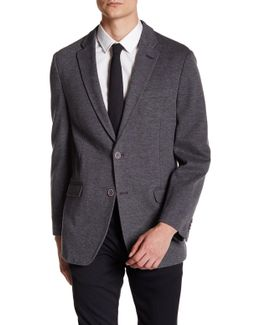 Gene Grey Two Button Notch Lapel Suit Separates Jacket