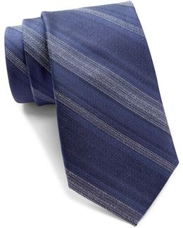 Midnight Degrade Stripe Tie