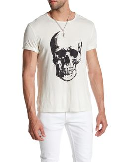 Painted Skull Graphic Tee