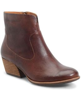 Sherrill Leather Ankle Boots