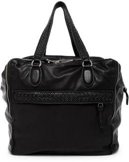 Kaylaso Folding Leather Shoulder Bag