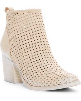 Kenyon Perforated Ankle Boot