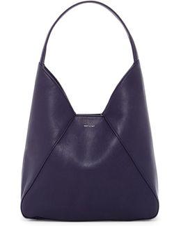Kishu Vegan Leather Hobo Bag