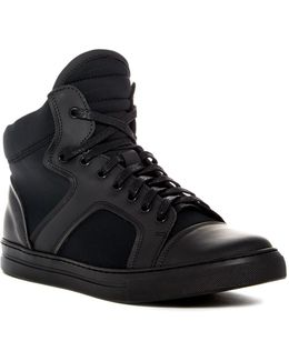 Double Feature High Top Sneaker