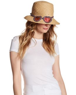 Rose Colored Glasses Hat