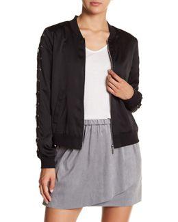 Lace-up Jacket