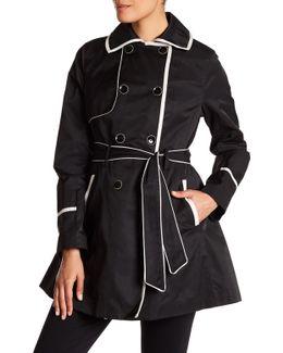 Fit & Flare Rain Coat