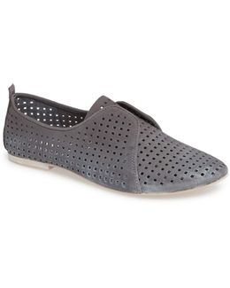 Kylie Perforated Slip-on Oxford