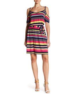 Printed Matte Dress